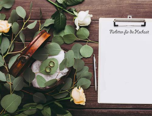 Fürbitten für die Hochzeit